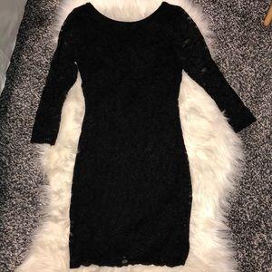 Full lace bodycon dress